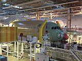 Bau eines Airbus A350